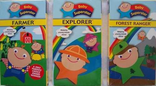 3 BABY SUPERSTAR Videos NEW - Fun for Babies!