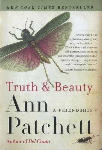 Ann PATCHETT Truth & Beauty NYT Bestseller