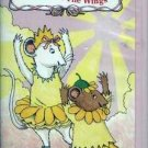 ANGELINA BALLERINA Angelina in the Wings VHS