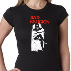 Bad Religion Girls Stretchy Top T-Shirts
