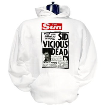 Sid Vicious Punk Rock Hoodies sweatshirts