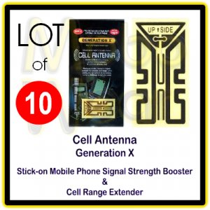 Wholesale Lot/10-Universal Mobile/Cell Phone/Cordless Phone/Walkie-Talkie Antenna Signal Boosters