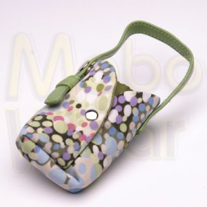 Green Universal Cell Phone/PDA/Bluetooth/MP3 Pouch Mini Purse Carrying Case