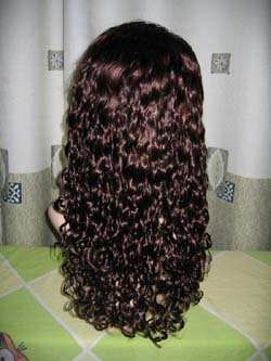 100% Virgin Malaysian Lace Wig 8 inches