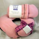 Crescent Moon ROSE & LAVENDER Neck Pillow PLUS Spa Booties