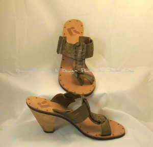 REPORT Copper Metalic Gladiator Sandal Comfort 10 M