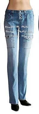 LONDON JEAN Victorias Secret THE CARGO LOW RISE 10