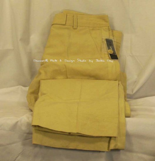 DKNY Linen Pant Fitted Wide leg