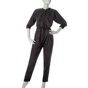 Suzanne Somers Woven Jumpsuit Size 12 Item 239-194