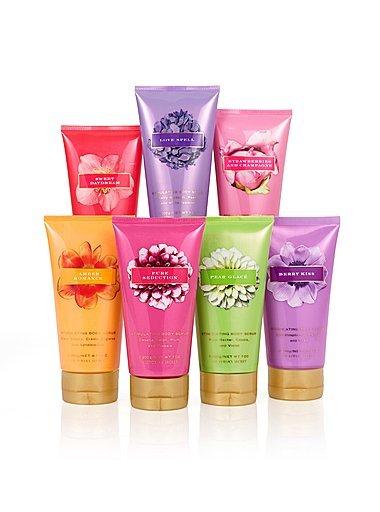 Victoria's Secret Garden Splash, Scrub and Body ButterPear Glace (Set-3)