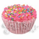 Strawberry Sweet Solid Bubblebath Cupcake
