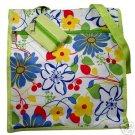 Tropical Lime Green Island Floral Purse Handbag