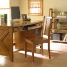 HOME OFFICE WRITING DESK CHESTNUT FURNITURE