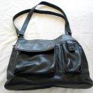 FOSSIL Black Leather Purse Handbag