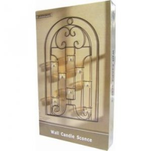 Elegant wall candle holder
