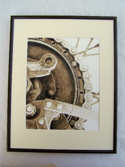 Framed 11x14 Art Photo Print Wall Decor Abstract new