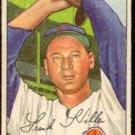 CINCINNATI REDS FRANK HILLER 1952 BOWMAN # 114 VG/EX