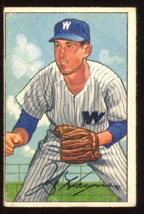 WASHINGTON SENATORS JOE HAYNES 1952 BOWMAN # 103 G+