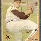CHICAGO WHITE SOX FRANK BAUMANN 1962 TOPPS # 161 EX