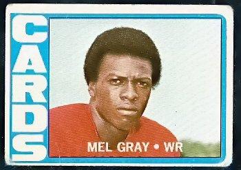 ST LOUIS CARDINALS MEL GRAY 1972 TOPPS # 112 G