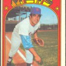 NEW YORK METS DANNY FRISELLA 1972 TOPPS # 293 VG