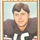 CLEVELAND BROWNS MIKE PHIPPS 1972 TOPPS # 96 VG