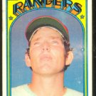 TEXAS RANGERS TOBY HARRAH ROOKIE CARD 1972 TOPPS #104 G