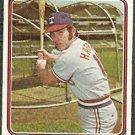 TEXAS RANGERS TOBY HARRAH 1974 TOPPS # 511 VG