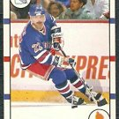 NEW YORK RANGERS MIKE GARTNER 90/91 SCORE # 130