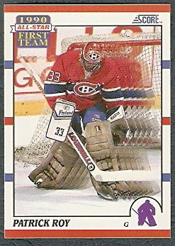 MONTREAL CANADIENS PATRICK ROY A.S. 90/91 SCORE # 312