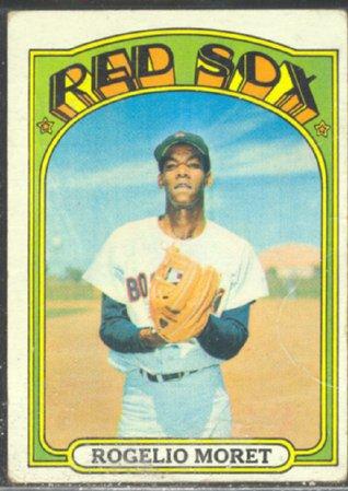 BOSTON RED SOX ROGELIO MORET 1972 TOPPS # 113 VG