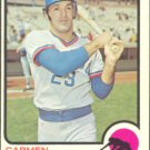 CHICAGO CUBS CARMEN FANZONE 1973 TOPPS # 139 EX