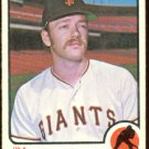 SAN FRANCISCO GIANTS JIM WILLOUGHBY 1973 TOPPS # 79 VG