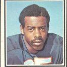 BUFFALO BILLS LINZY COLE 1973 TOPPS # 449 G/VG