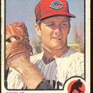 CLEVELAND INDIANS STEVE DUNNING 1973 TOPPS # 53 G