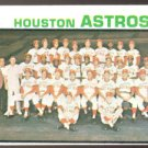 HOUSTON ASTROS TEAM CARD 1973 TOPPS # 158 NR MT MC