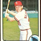 ST LOUIS CARDINALS TED SIZEMORE 1973 TOPPS # 128 EX SMC