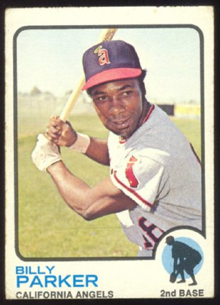 California Angels Billy Parker 1973 TOPPS # 354
