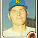 MILWAUKEE BREWERS CHUCK TAYLOR 1973 TOPPS # 176 VG