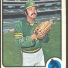 OAKLAND ATHLETICS DAROLD KNOWLES 1973 TOPPS # 274 VG