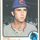 CHICAGO CUBS DAVE LaROCHE 1973 TOPPS # 426 EM/NR MT SMC