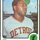 DETROIT TIGERS IKE BROWN 1973 TOPPS # 633 G