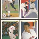 RED SOX 1990 UD TEAM SET (26) ROGER CLEMENS WADE BOGGS +