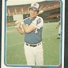 Atlanta Braves Frank Tepedino 1974 Topps Baseball Card 526 ex