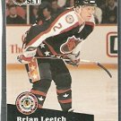 NEW YORK RANGERS BRIAN LEETCH A.S. 91/92 PRO SET # 309