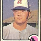 Atlanta Braves Jim Breazeale 1973 Topps Baseball Card 33 good