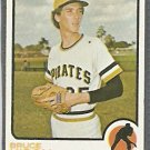 Pittsburgh Pirates Bruce Kison 1973 Topps Baseball Card 141 vg/ex