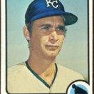 Kansas City Royals Jose Arcia 1973 Topps Baseball Card 466 ex mt smc