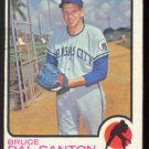 KANSAS CITY ROYALS BRUCE DAL CANTON 1973 TOPPS # 487 G