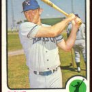 KANSAS CITY ROYALS RICHIE SCHEINBLUM 1973 TOPPS # 78 EX/EM